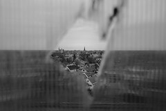 un.bound (jonathancastellino) Tags: architecture crack glass pane window buffalo ny usa america church distance neighborhood shatter broken leica q slice unbound abandoned derelict decay ruin ruins bct train station tower ngc steeple