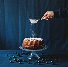 Blueberry Lemon Cake <3 (www.juliadavilalampe.com) Tags: cake blueberries arándanos blue azul lemon light stilllife torta bizcocho kitchen love vienna austria home happiness