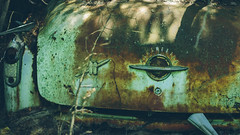 Rocket 88 (Marty Hogan) Tags: deltacounty michigan abandonedcar junkcar oldsmobile rocket88
