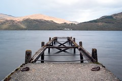 Mind the Gap (eyesomepics) Tags: jetty water loch lomond scotland scottish ruined scenic le banks shore landscape