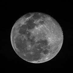 The Waning Gibbous Moon Phase (Azim Taufik) Tags: astrophotography astronomy fullmoon moon lunar nightphotography nocturnalshot nightshot space temerloh pahang malaysia flickraward rm infinitexposure nightshooter night