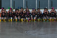 2016-06-04 Whitewood Block Party Game 2_003 (Mike Trottier) Tags: blockparty canada derby miketrottier miketrottierrollerderbyphotography rollerderby saskatchewan straightjackets whitewood can