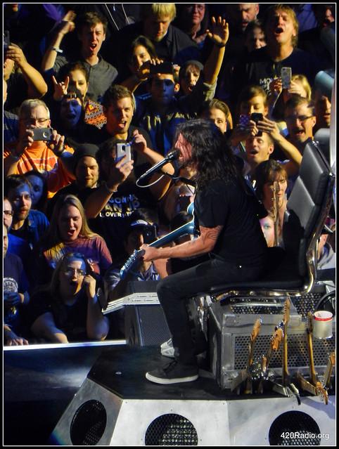 Foo Fighters - Rose Garden Arena - Portland, OR - 09/14/15