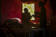 Vaishnava Monks (Mahadev Rojas Torres) Tags: vaishnava festivals god devotees canon westbengal india nabadwip holyplace holy colourful offerings worship devoted documentary photojournalism lifestyle dedicated soul