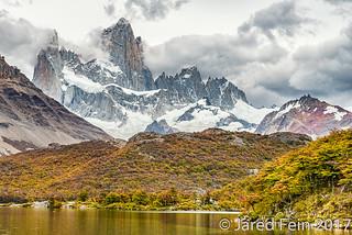 Fitz Roy From Lake Capri, Argentina