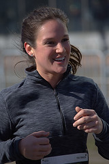 Happy Runner (swong95765) Tags: woman female runner athlete race smile pretty smiling running action motion