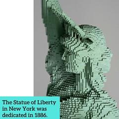 3 (national museum of american history) Tags: lego bricks statue liberty statueofliberty smithsonian nationalmuseumofamericanhistory