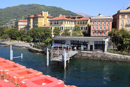 Pallanza ferry jetty