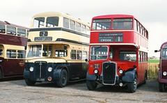 JOJ 489 - PHN 829 (markkirk85) Tags: bus buses joj 489 crossley dd42 mcw birmingham city transport new 81950 2489 phn 829 bristol ksw6b ecw united automibile services 71952 bbl67 joj489 phn829 k