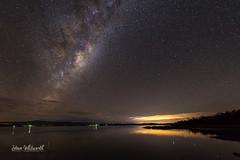 Up the Tamar (SteveWhitworthPhoto) Tags: australia tasmania northerntasmania tamarriver tamarvalley deviot nightsky night stars astrophotography astro reflection milkyway river nikon nikond800e nikon1424mmf28