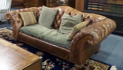 William Allan Leather Sofa ($784.00)