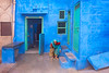 Home. Jodhpur, India (Marji Lang Photography) Tags: 2013 canon5dmii ef247028l inde india indiansubcontinent jodhpur jodhpurblue marjilang rajasthan travelphotography travelphotographyme age aged atmosphere blue bluebackground bluecity bluehome bluehouse bluemood bluepaint bluewall colorphotography colorful colors composition documentary door doorstep grandmother granny home homesweethome horizontal house indian jodhpurcity mood old oldjodhpur oldage onepeople oneperson onewoman onewomanonly paintedblue people photography rajasthani tourism travel travelanddocumentaryphotography travelimage woman