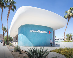 City National Bank (Chimay Bleue) Tags: midcentury modern palm springs bank america victor gruen design architecture modernist modernism corbusier ronchamps