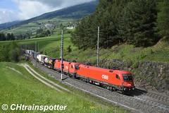 ÖBB: Rh 1116 127, Pfons (A) (Alexandre Zanello) Tags: taurus siemens öbb 1116 brenner brennerbahn brennero ferrovia pfons matrei tirol