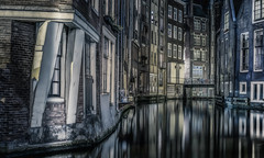 Dutch curves (Dmitry_Pimenov) Tags: amsterdam ams dutch holland netherlands netherland europe europa travel trip architecture urban night city cityscape citta reflection water river canal dmitrypimenov dipimenov dark дмитрийпименов амстердам ночь longexposure fujifilmxt1 fujifilm fujinon35mm fuji35f14