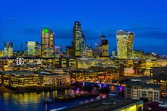 """This Is London II"" Switch House, Tate Modern, London, UK (davidgutierrez.co.uk) Tags: london photography davidgutierrezphotography city art architecture nikond810 nikon urban travel color skyscraper night blue uk londonphotographer skyline tatemodern tate herzogdemeuron photographer buildings england unitedkingdom 伦敦 londyn ロンドン 런던 лондон londres londra europe beautiful cityscape davidgutierrez capital structure britain greatbritain d810 building street modernartgallery switchhouse colour openviewingterrace 360ᵒ londonskyline riverthames millenniumbridge bridge dusk bluehour twilight thames river colors colours nikon2485mmf3545gedvrafsnikkor nikon2485mm thamesriver iconic landmark reflection walkietalkie"