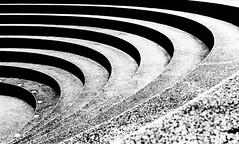 eingekreist (tan.ja1212) Tags: treppe stairs rund round schwarzweis monochrom stufen tier