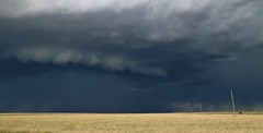 Oklahoma Panhandle storm (matt.clark25) Tags: oklahoma oklahomathunderstorms thunderstorm lightning convection outflow gusty gusts gust plains highplains weather cumulonimbus gustfront