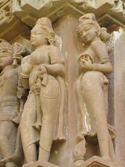 Devi Jagadambi Temple (solarisgirl) Tags: devijagadambitemple devijagadambi devi jagadambi temple khajuraho mp stone art sculpture westerngroup apsara woman