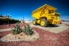 Pioneer Park, Boron, California (ap0013) Tags: california ca cal boron pioneer park pioneerpark boroncalifornia dumptruck mine mining dump truck desert