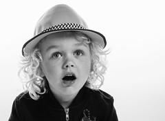 Stare out of color (Gunnar Þór) Tags: boy blackandwhite bw kid children portrait hat art 2017 eyes birkir flickrunitedwinner
