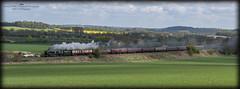 34052 (Tomahawk Photography) Tags: 34052 34046 lorddowding ukrail ukrailways rail railway railways uksteam steamtrain steam train clattercote
