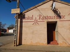 Hostal Restaurante (amgirl) Tags: meseta spain sahaguntoelburgoranero wednesday april12 day14 walking