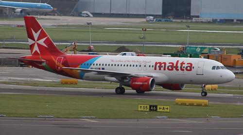 9H-AEN Airbus A320-214 Air Malta