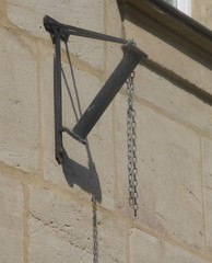 (:Linda:) Tags: germany bavaria franconia town erlangen flagholder shadow