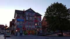 S7 Test  - Morgendämmerung - Tübingen (eagle1effi) Tags: epple epplehaus tübingen jugend jugendzentrum morgendämmerung twilight zwielicht iso80 s7 samsung galaxy art artexpression architecture kunst gebäude sprayer grafitti