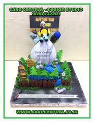 Mountain Cake #mountain #cake #naturelover #mteverest #trecker #southdelhi #cakedelivery #online  #designercake #delhi #fondant #themed (Cake Central-Design Studio) Tags: firstbrthday designercake delhi fondant themed kidscake