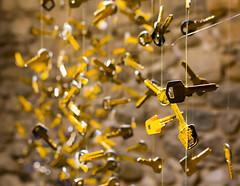 Which is the real key? (cmirg) Tags: keys catalonia catalunya cataluña gold girona gerona tempsdeflors
