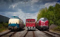 220 023-6 (V200 015 !) + Deutz D52 T4M + V200 033 - Hamm Süd - 14/05/2017 (spottermarc) Tags: meh museumseisenbahn hamm v200 v 200 mak 015 033 220 023 0236 süd lokschuppenfest deutz d52 t4m diesellok canon eos 5d mark ii deutsche bahn ag drb br diesel eisenbahn heritage railway lok loc lokomotivfabrik bundesbahn reichsbahn db dr class fabriknummer passenger passagier train trainspotting engine spotter trainspotter rail baureihe br220