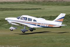 G-BRNV - 1977 build Piper PA-28-181 Cherokee Archer II, departing from Runway 26R at Barton (egcc) Tags: 287790402 archer barringtonbullock barton cherokee cityairport egcb gbrnv lightroom manchester n2537q pa28 pa28181 piper