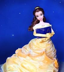 Book of the Belle of the Ball (Richard Zimmons) Tags: emmawatson yellow princess disneyland disneyworld disneystore mattel doll disney beautyandthebeast belle