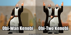 PopFig: Obi-Wan Kenobi and ... (JD Hancock) Tags: jdhancock popfig comics lol webcomics geeky photocomics fun funny obiwankenobi starwars