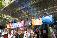 Bolsos (Bob Hetherington) Tags: bags bolosos colour madrid market rastro street outdoor spain españa city life