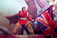Iron Maiden Glasgow 2017 - Bruce Dickinson (AMKs_Photos) Tags: bruce dickinson iron maiden concert heavy rock metal music glasgow sse hydro scotland 16th may 2017 160517 amksphotos amk photography canon s90 lumix
