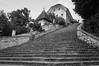 The Church on the Island, Lake Bled (iammattdoran) Tags: church island bled lake alps julian slovenia steps black white slovene natural wonder beauty