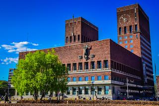 Oslo Rådhus - City Hall - Oslo Norway