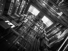 Ready to Launch (marco ferrarin) Tags: elevator atrium ikebukuro tokyo japan building 豊島区役所 toshimaku urban city light perspective condominium