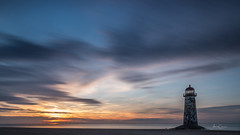 61 second sunset. (A Crowe Photography) Tags: talacrebeach talacrelighthouse tamron sunsets sun cloudsstormssunsetssunrises canon6d welshflickrcymru welshphotography welshlandscape welshphotographer wideangle