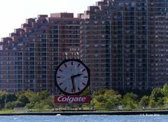Colgate Clock (Jersey City, NJ) (featfannyc) Tags: newyorkcity nyc september2016 downtownmanhattan colgateclock