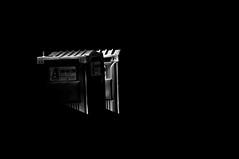 Talking Heads !!! (imagejoe) Tags: vegas nevada strip street black white photography photos shadows reflections people nikon