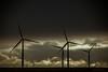 Silent Blades On A Stormy sky ...HWW! (jackalope22) Tags: hww windmills wind generators silhouette clouds