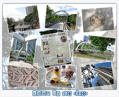 down by the river (leonghong_loo) Tags: singaporeriver robertsonquay robertsonbridge jiakkimbridge kimsengpark