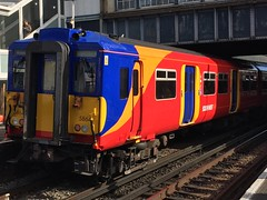 *REFURBISHED* 455864 Clapham Junction 18/05/17 (Zubin M Transport Photography) Tags: 455864 455 864
