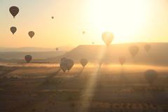 Cappadocia air balloon (erikamarson) Tags: goreme cappadocia sunrise airballoon turchia turkey fly sky mongolfiera balloning