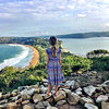 Zoe. Looking out from Barrenjoey Lighthouse (miaow) Tags: sydney barrenjoey nsw autumn2017 view 9yo