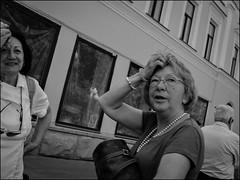 7_DSC0787 (dmitryzhkov) Tags: arbat two couple converse conversation look looks lookback glasses old oldwoman oldpeople smile pretty prettywoman day daylight woman women lady sony alpha black blackandwhite bw monochrome white bnw blacknwhite bnwstreet motion movement art city europe russia moscow documentary journalism street streets urban candid life streetlife citylife outdoor outdoors streetscene close scene streetshot image streetphotography candidphotography streetphoto candidphotos streetphotos moment light shadow people citizen resident inhabitant person portrait streetportrait candidportrait unposed public face faces